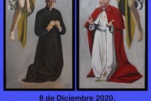 Colocación de una imagen de S. Josemaría en la parroquia de La Asunción de  Villajoyosa